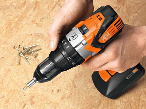 2-speed cordless hammer drill/driver  Fein ASB 18 C