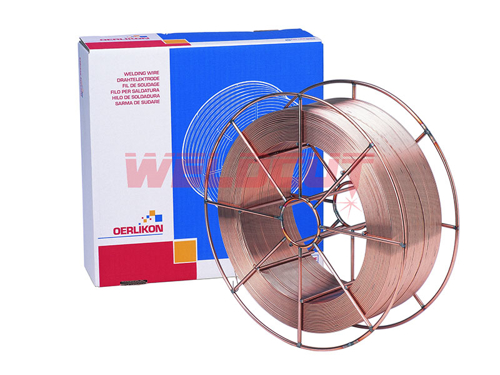 C-Mn and low-alloy steels wire Oerlikon CARBOFIL 1A GOLD