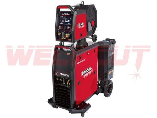 Semi-automatic welding machine Lincoln Electric Powertec i420S