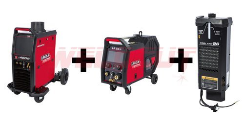 Semi-automatic welding machine Lincoln Electric Powertec i420S