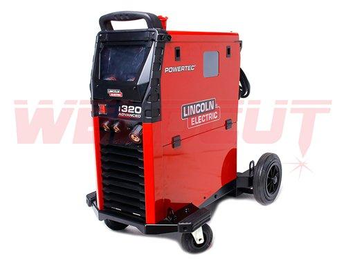 Powertec i320C Advanced - MIG/MAG Schweißgerät von Lincoln Electric K14287-1