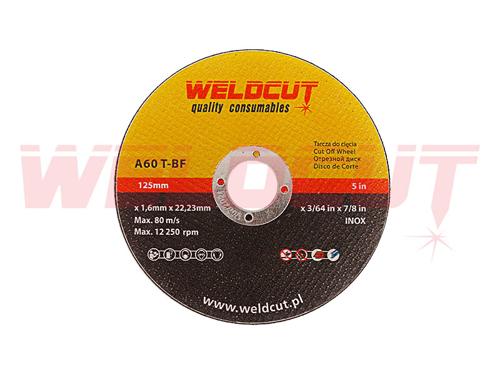 Tarcza do cięcia Weldcut Inox 125mm x 1.6mm
